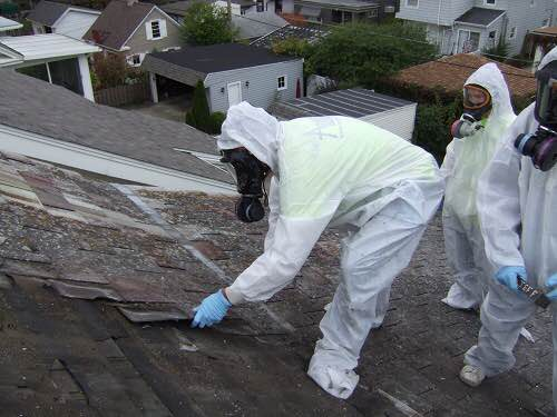 Asbestos Roof Service
